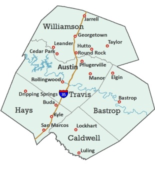 HealthSense Hospice Counties